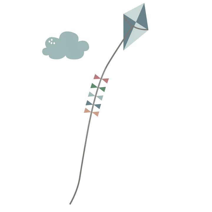 Farm Wandsticker / Messlatte 0 - 139 cm von Sebra für Jungen