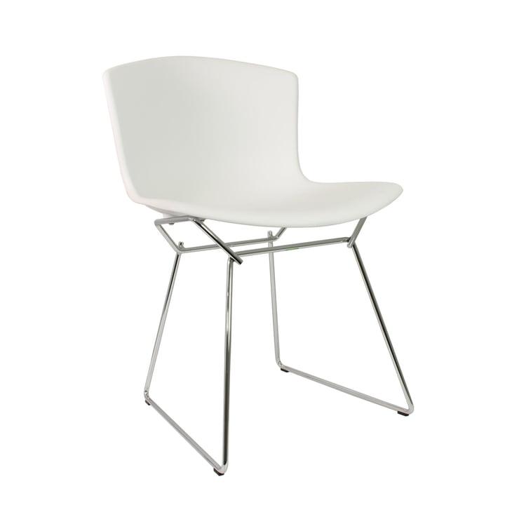 Knoll - Bertoia Kunststoff-Stuhl in Weiß