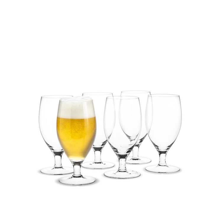 Royal Bierglas , 48 cl (6er-Set) von Holmegaard