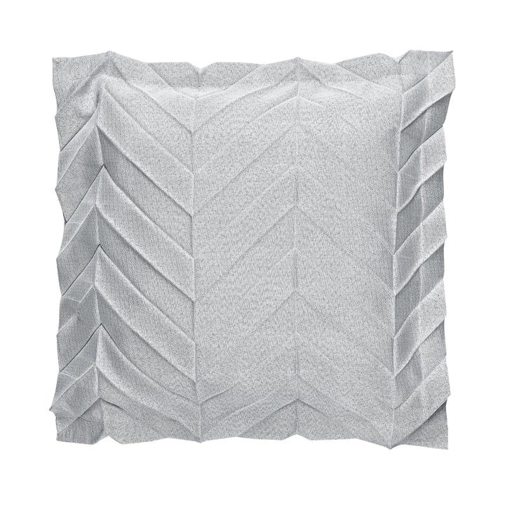 Iittala X Issey Miyake - Kissenbezug 50 x 50 cm zigzag, hellgrau