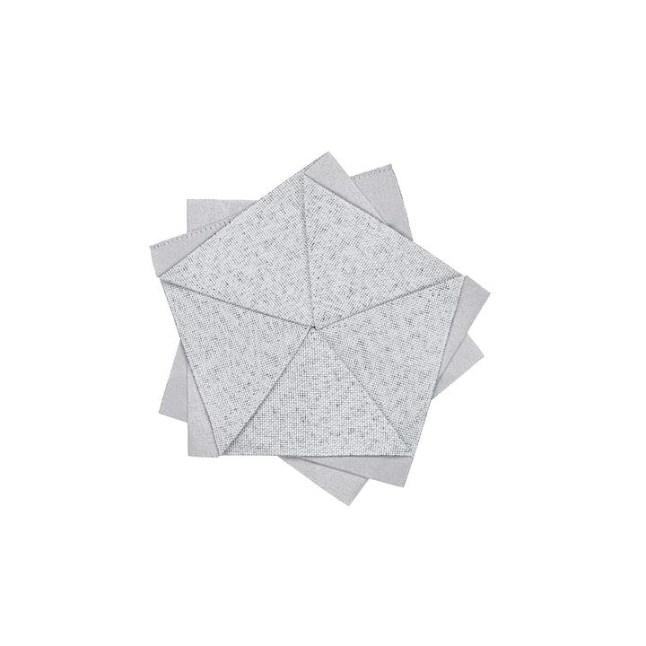 Iittala X Issey Miyake - Table Flower Ø 15 cm, hellgrau
