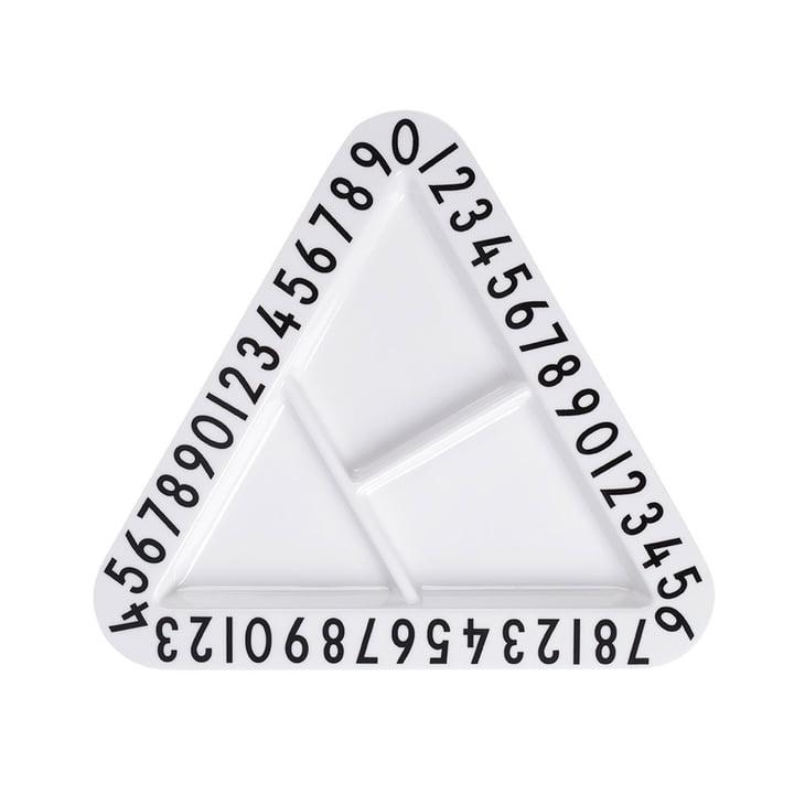 Design Letters - AJ Melamin Snackteller, dreieckig
