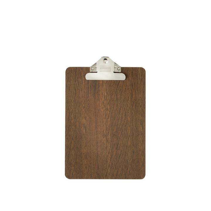 Clipboard A5 aus geräucherter Eiche von ferm Living