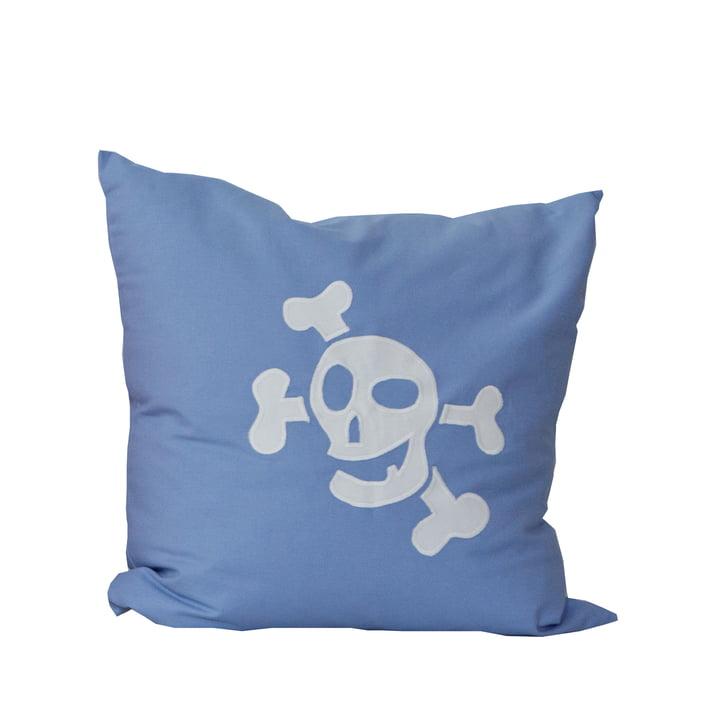 debe.deluxe Kissen Pirat von De Breuyn in Hellblau