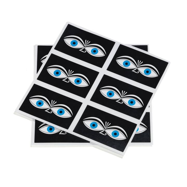 Sticker Eyes blue von Vitra