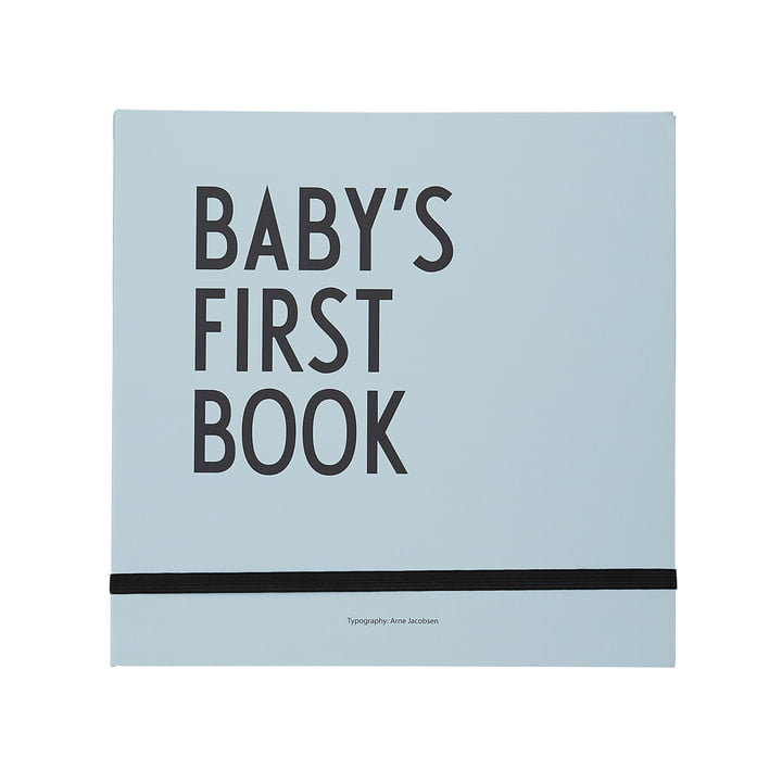 Baby's First Book von Design Letters in Türkis