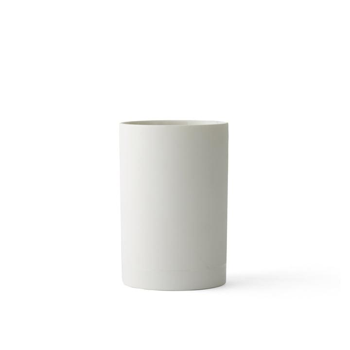 Die Cylindrical Vase S von Menu in weiß