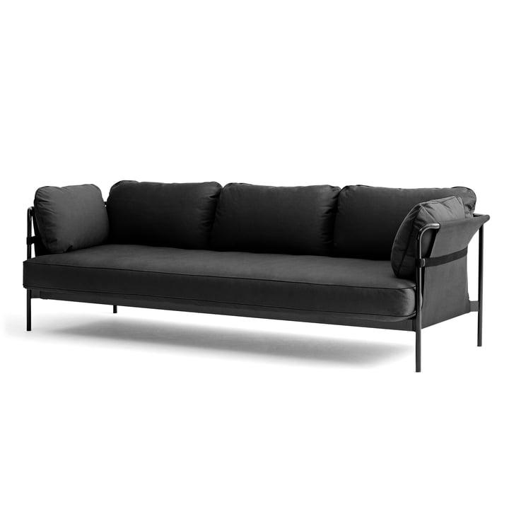 Hay - Can Sofa, 3-Sitzer, grau / Canvas grau / Canvas grau