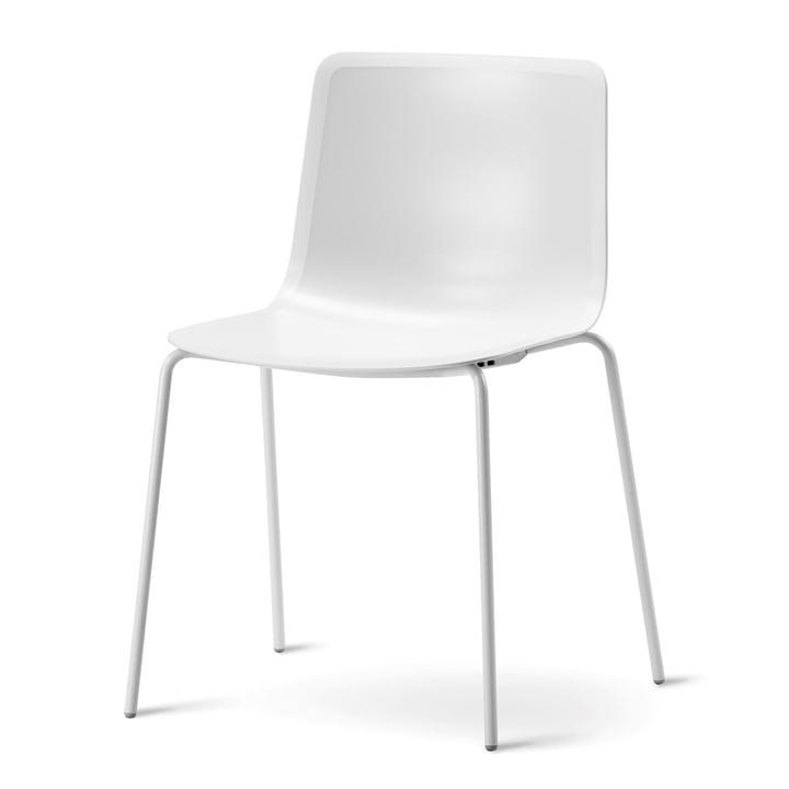 Pato 4 Beine Stuhl von Fredericia in Weiß