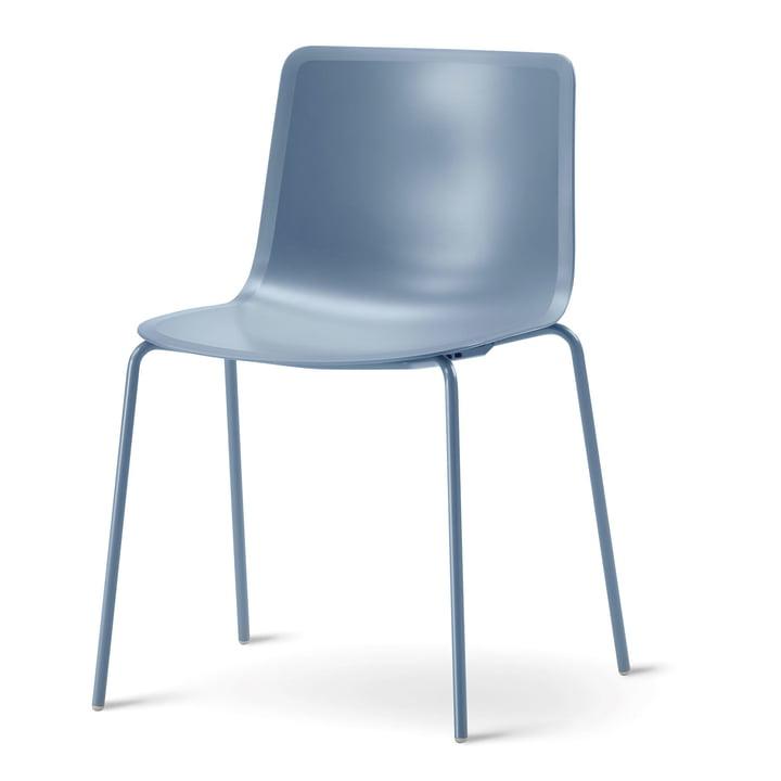 Pato 4 Beine Stuhl von Fredericia in der Farbe Storm