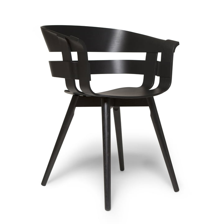 Der Wick Chair Wood in schwarz von Design House Stockholm