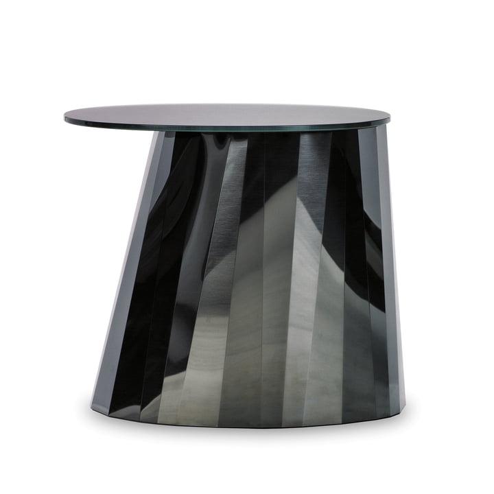 ClassiCon - Pli Side Table, onyx-schwarz glänzend