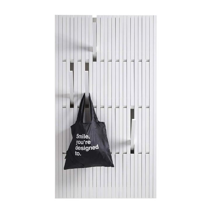 Die Piano Hanger Buche weiß lackiert (RAL 9010) in large von Peruse
