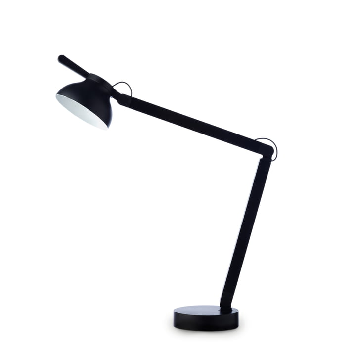 PC Double Arm LED Tischleuchte von Hay in oft black