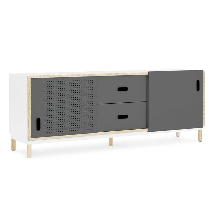 Kabino Sideboard mit Schubladen von Normann Copenhagen in Grau
