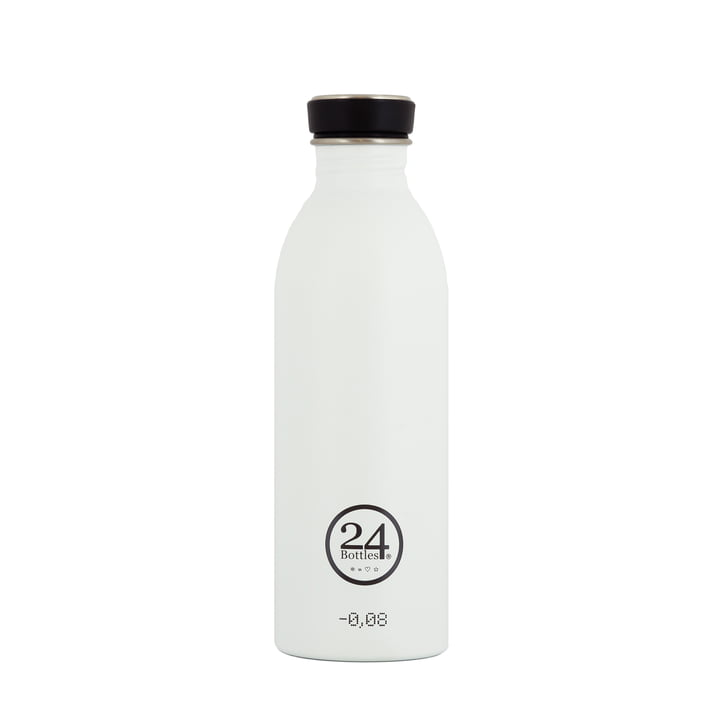 Be urban Be green Edition 0,5 l in ice white von 24Bottles