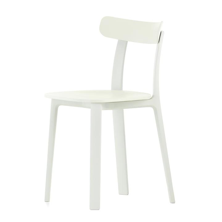 Der All Plastic Chair in weiß von Vitra