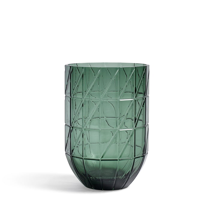 Die Hay - Colour Vase Glasvase in L, grün