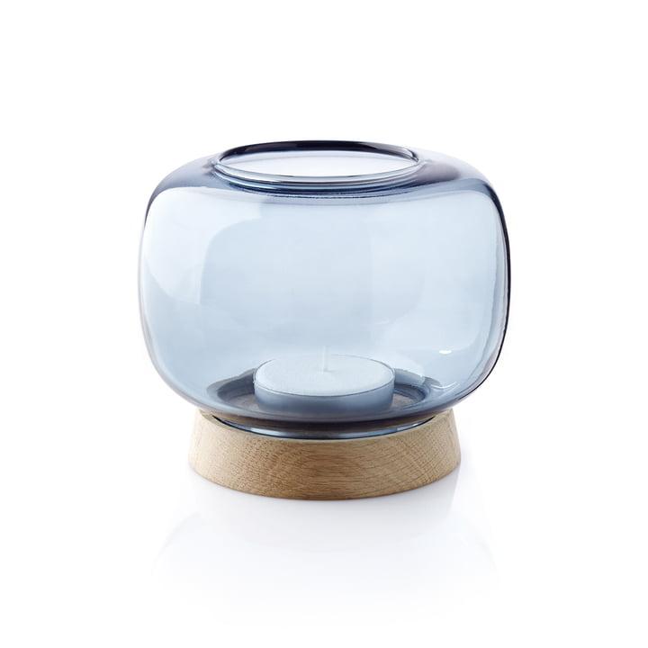 Der applicata - Hurricane Teelichthalter maxi in blau