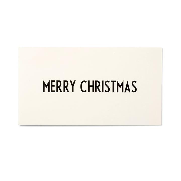 Design Letters - AJ Grußkarte, Merry Christmas