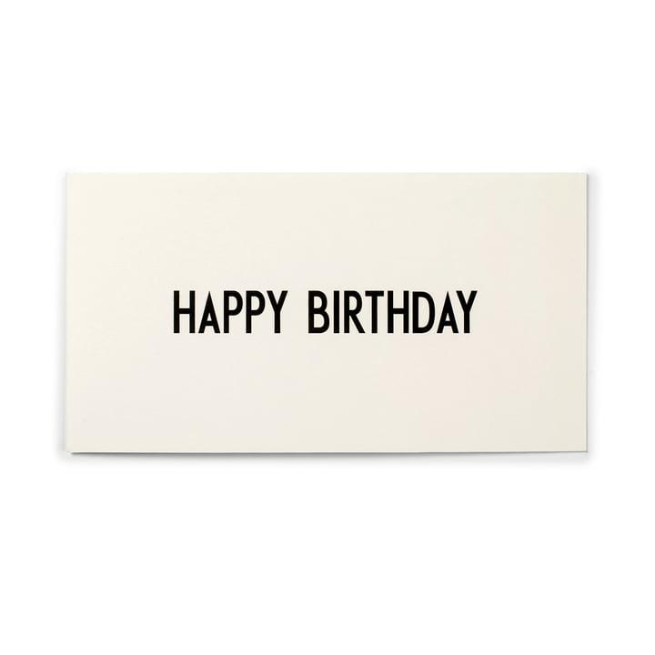 Design Letters - AJ Grußkarte, Happy Birthday