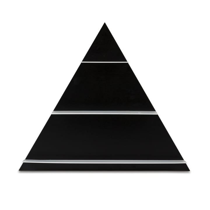 Design Letters - Paper Regal Triangle, black