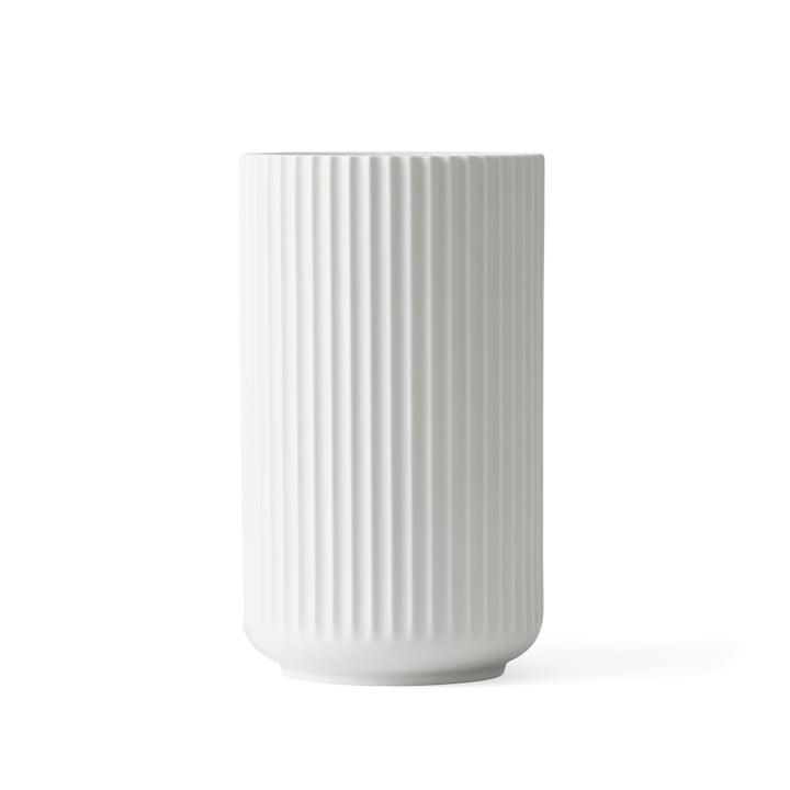 Lyngbyvase H 15,5 cm von Lyngby Porcelæn weiß