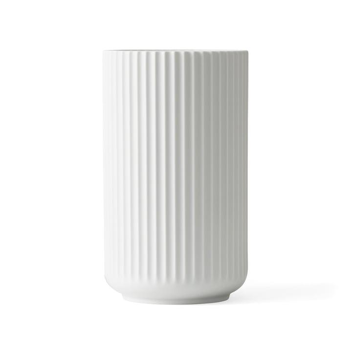 Lyngbyvase H 20,5 cm von Lyngby Porcelæn weiß