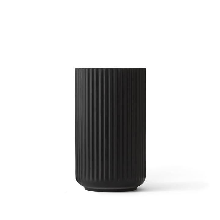 Lyngby Porcelæn - Lyngbyvase, schwarz, H 12 cm
