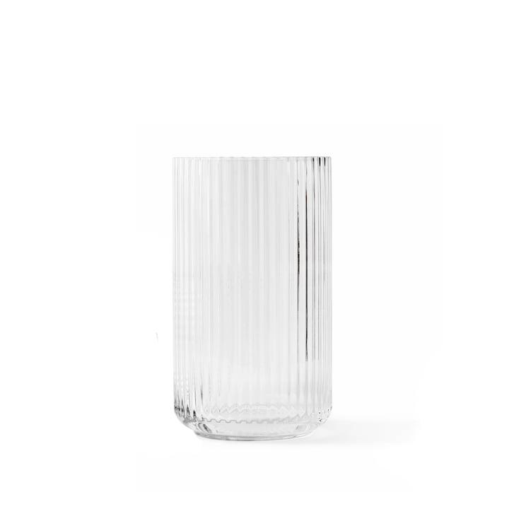Glasvase H 12,5 cm von Lyngby Porcelæn in transparent