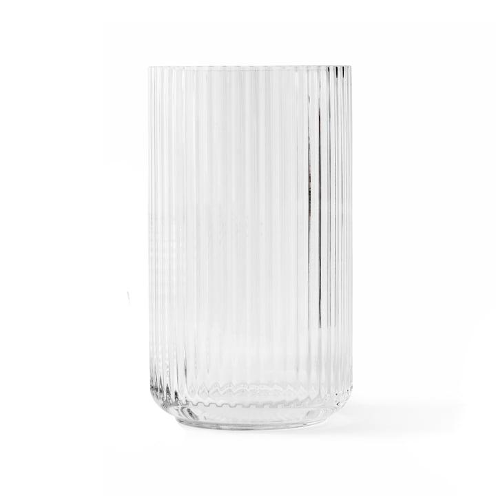 Glasvase H 25 cm von Lyngby Porcelæn in transparent