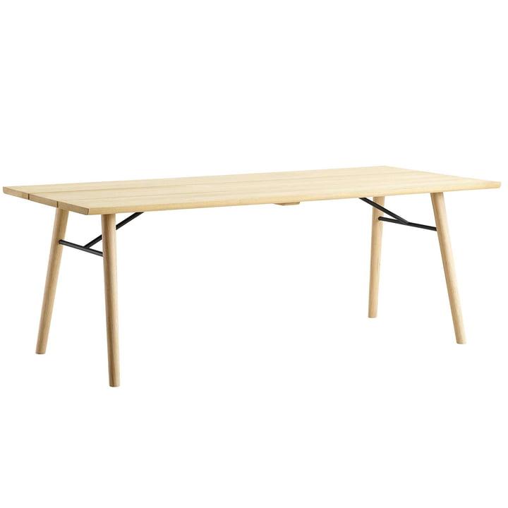 Split Dining Table von Woud in Eiche geseift