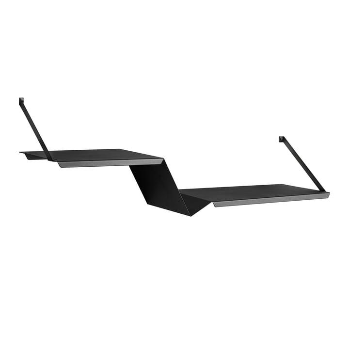 Fold Shelf von Woud in Schwarz