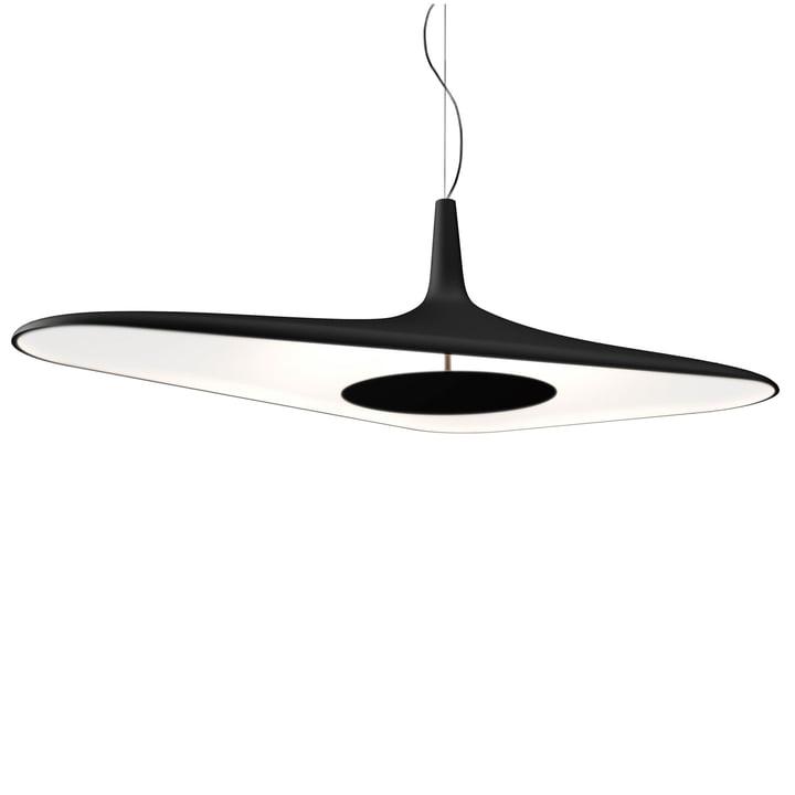 Soleil Noir Pendelleuchte von Luceplan in Schwarz / Weiß