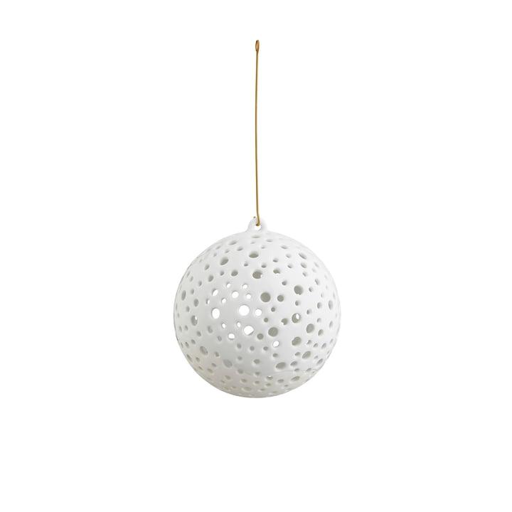 Hängender Nobili Teelichtleuchter Kugel Ø 12 cm von Kähler Design