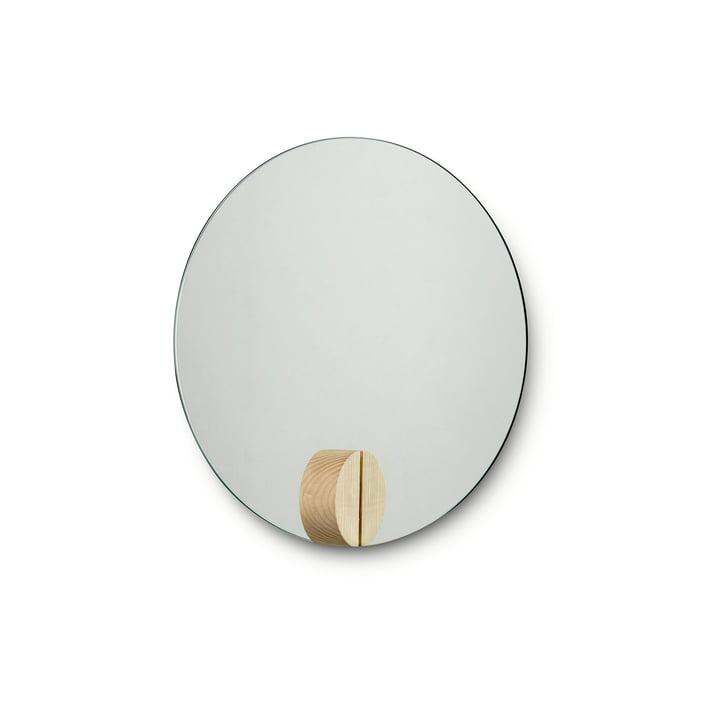 Fullmoon Mirror Ø 30 cm von Skagerak aus Eschenholz