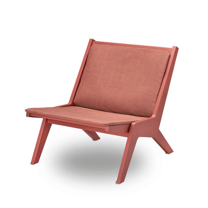 Miskito Lounge Chair von Skagerak in Scarlet Red
