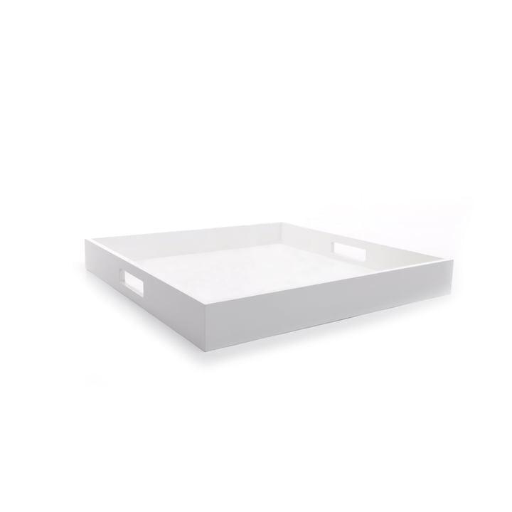 Zen Tray in Small von XLBoom in Weiß
