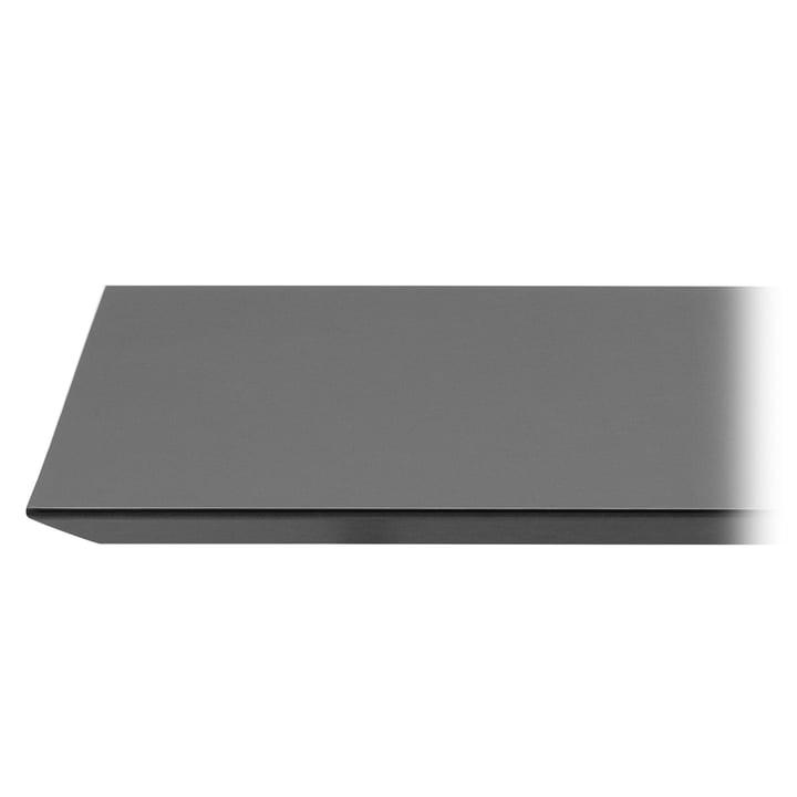 Mingle Tischplatte Linoleum von ferm Living in Schwarz