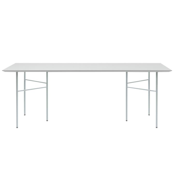 Mingle Tischplatte Linoleum und Untergestell von ferm Living