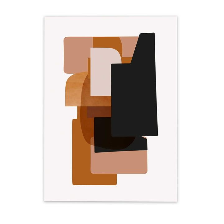 Abstraction Poster 3 von ferm Living