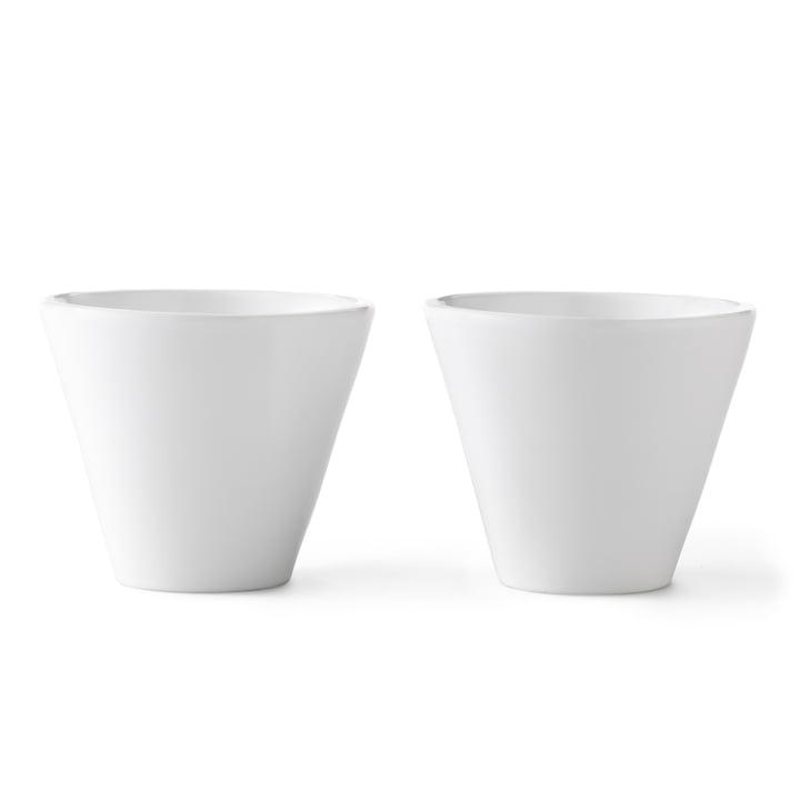 Norli Tassen (2 Stk.) groß von by Lassen in Weiß