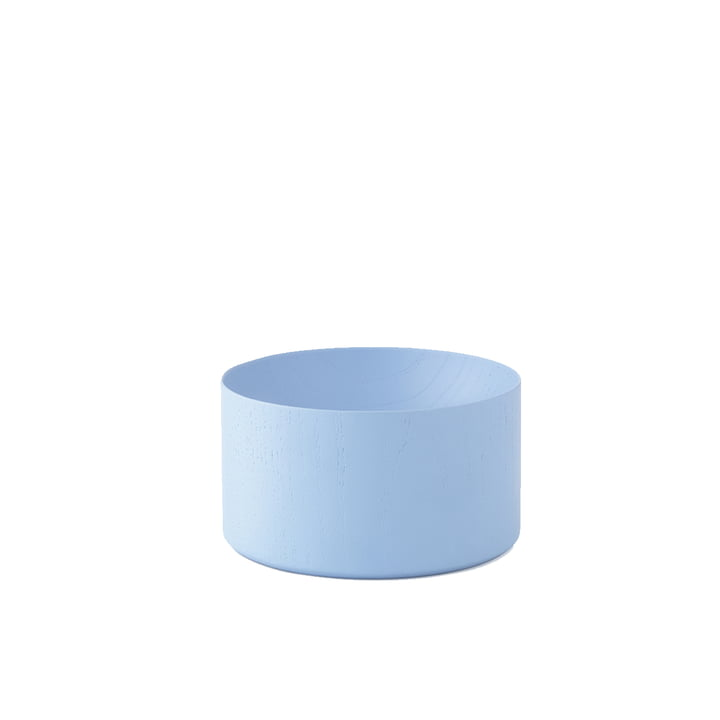 Moon Tray Medium von Normann Copenhagen in Powder Blue