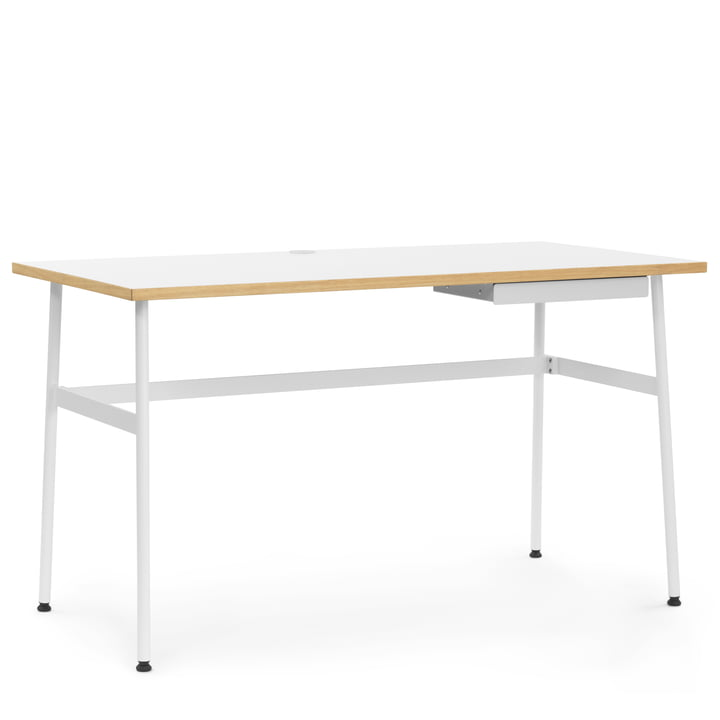 Journal Desk von Normann Copenhagen in Weiß