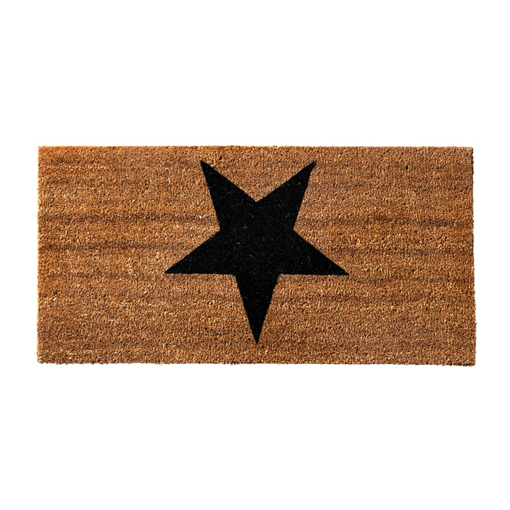 Fußmatte Star von Bloomingville