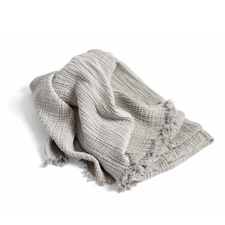 Crinkle Bedspread Tagesdecke von Hay in Grau