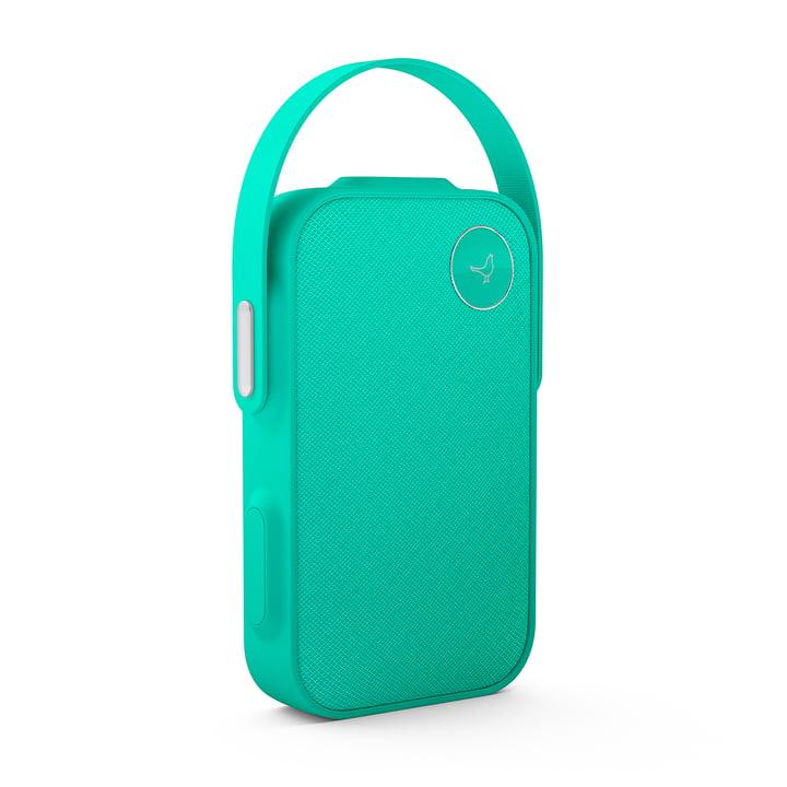 Der Libratone - One ClickBluetooth-Lautsprecher, caribbean green