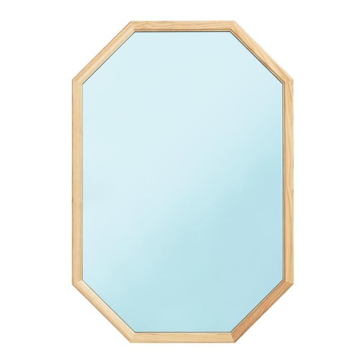 Normann Copenhagen - Lust Mirror 80 x 55 cm, blau
