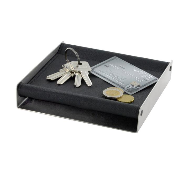 Die mono - depot Accessoires-Ablage - 16 x 16 cm - schwarz