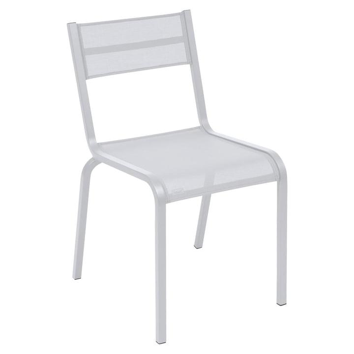 Oléron Stuhl von Fermob in Baumwollweiß